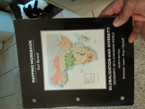 Student's Mapping Workbook for Globalization and Diversity Geography of a Changing World 4th 2014 edition cover