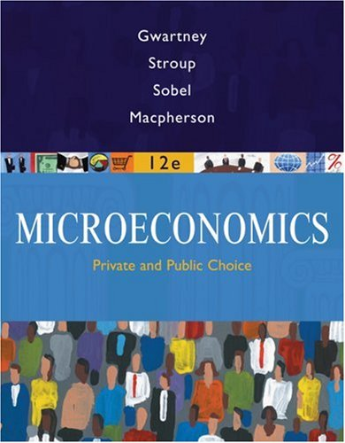 Microeconomics Private and Public Choice 12th 2009 edition cover