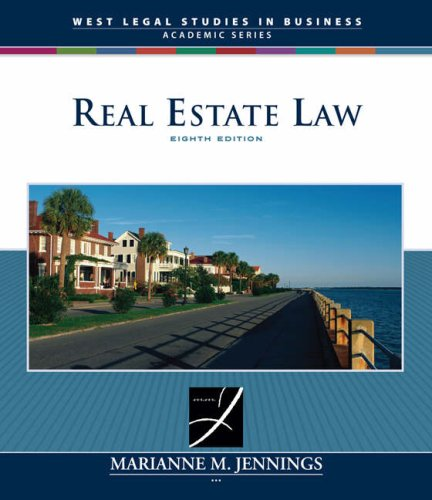Real Estate Law  8th 2008 (Revised) edition cover