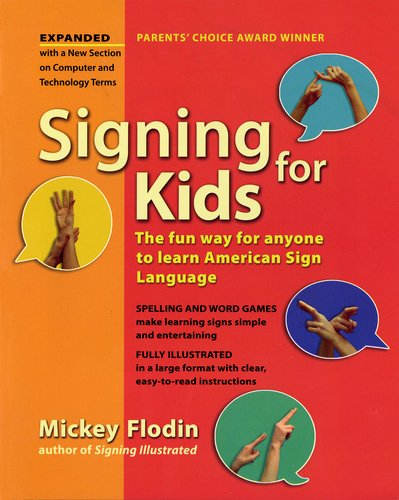 Signing for Kids   2007 (Revised) edition cover