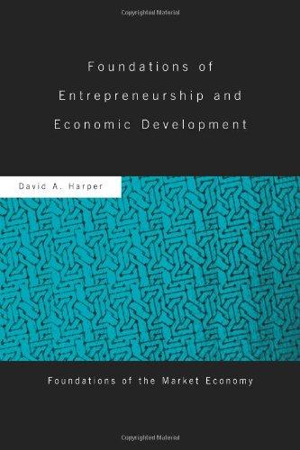 Foundations of Entrepreneurship and Economic Development   2008 edition cover