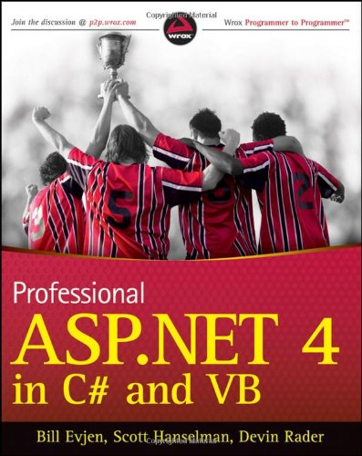 Professional ASP.NET 4 in C# and VB   2010 edition cover