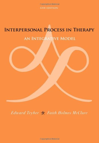 Interpersonal Process in Therapy An Integrative Model 6th 2011 edition cover