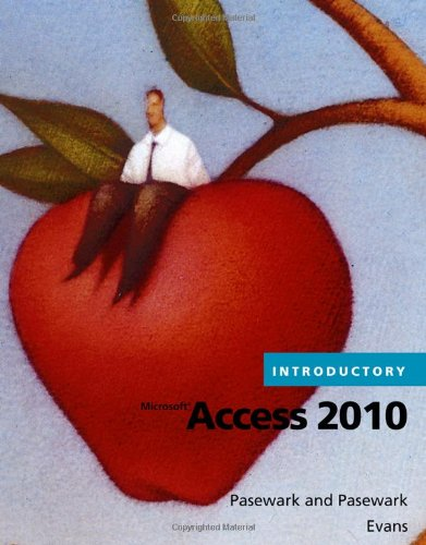 Microsoft� Access 2010 Introductory   2011 edition cover