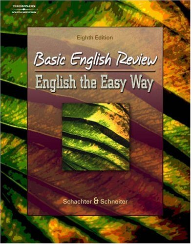 Basic English Review English the Easy Way 8th 2005 (Revised) edition cover