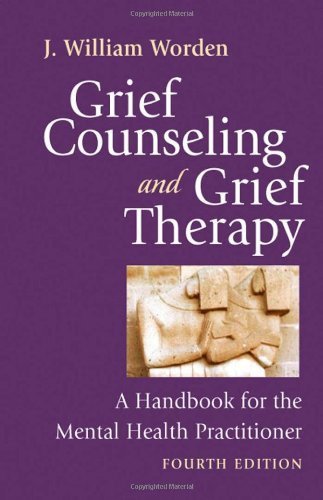 Grief Counseling and Grief Therapy A Handbook for the Mental Health Practitioner 4th 2008 edition cover