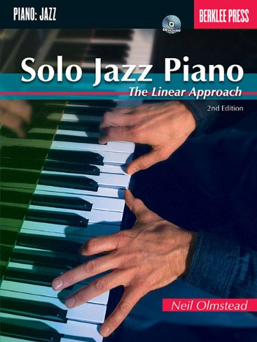 Solo Jazz Piano The Linear Approach 2nd (Revised) edition cover