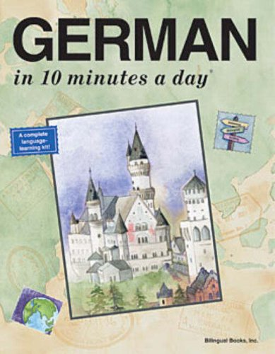 German in 10 Minutes a Day�  4th 2002 (Revised) edition cover