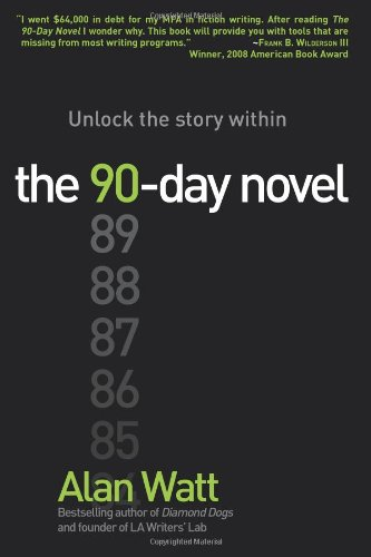 90-Day Novel Unlock the story Within  2010 edition cover