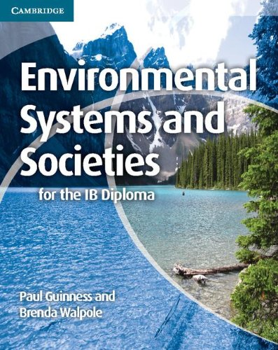 Environmental Systems and Societies for the IB Diploma   2012 9781107609204 Front Cover