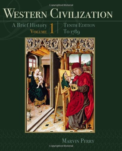 Western Civilization A Brief History - To 1789 10th 2013 edition cover