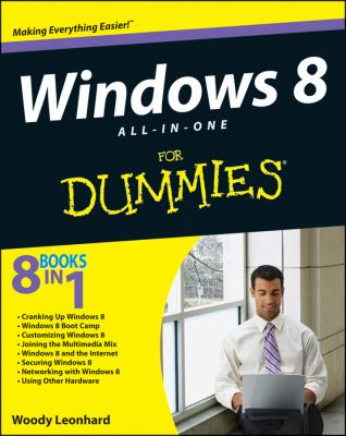 Windows 8 All-in-One for Dummies�   2012 9781118119204 Front Cover