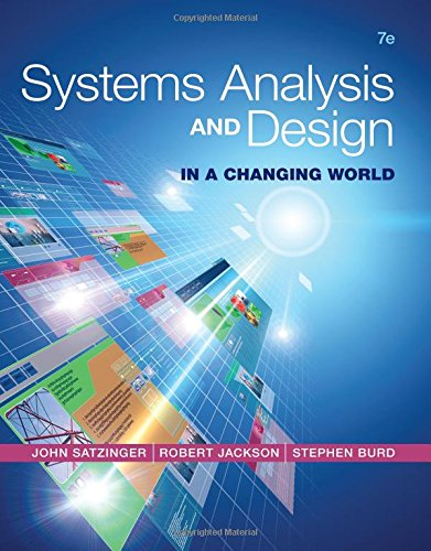 Systems Analysis and Design in a Changing World  7th 2016 (Student Manual, Study Guide, etc.) edition cover
