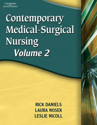 Contemporary Medical-Surgical Nursing   2007 9781401837204 Front Cover