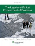 Legal and Ethical Environment of Business An Integrated Approach  2014 edition cover