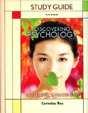 DISCOVERING PSYCHOLOGY-STUDY G N/A edition cover