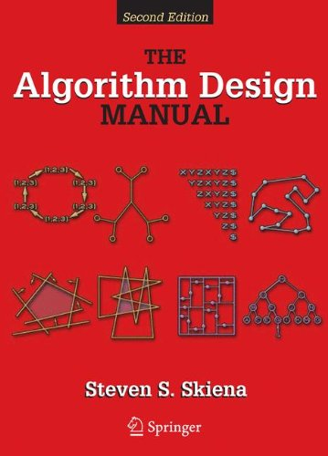 Algorithm Design Manual  2nd 2008 edition cover
