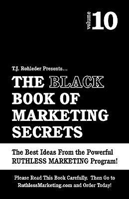Black Book of Marketing Secrets  N/A 9781933356204 Front Cover