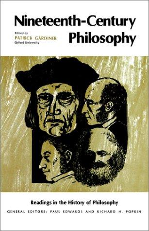 Nineteenth-Century Philosophy   1969 edition cover