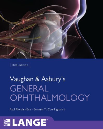 Vaughan and Asbury's General Ophthalmology  18th 2011 9780071634205 Front Cover