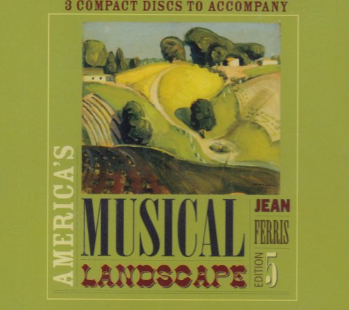 America's Musical Landscape: 5th 2005 edition cover