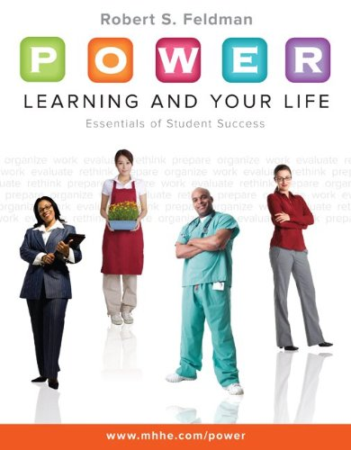 P. O. W. E. R. Learning and Your Life Essentials of Student Success  2011 edition cover