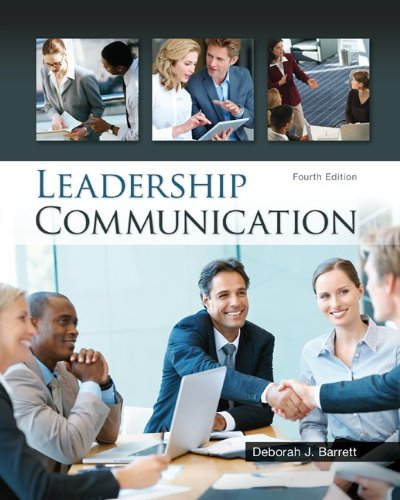Leadership Communication  4th 2014 edition cover