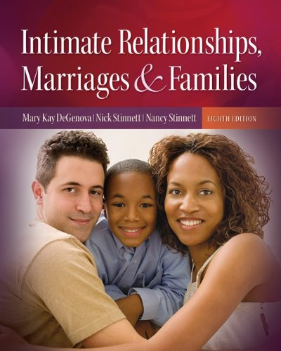 Intimate Relationships, Marriages, and Families  8th 2011 9780073528205 Front Cover