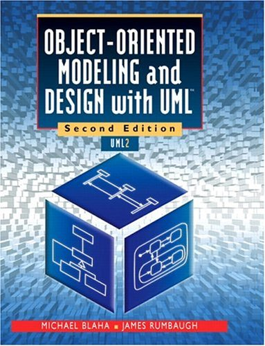 Object-Oriented Modeling and Design with UML  2nd 2005 edition cover