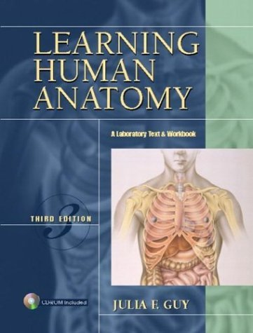 Learning Human Anatomy  3rd 2005 edition cover