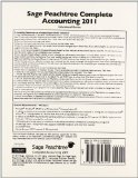 Peachtree Complete Accounting 2011 CD   2012 edition cover