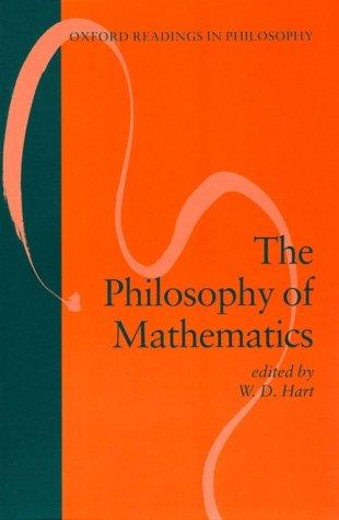 Philosophy of Mathematics   1996 edition cover