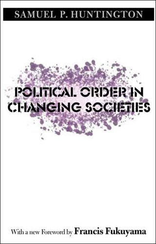 Political Order in Changing Societies   2006 edition cover