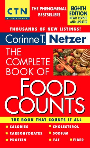 Complete Book of Food Counts 8th edition cover