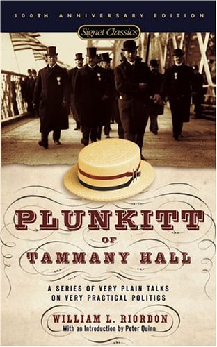 Plunkitt of Tammany Hall   1995 (Revised) edition cover