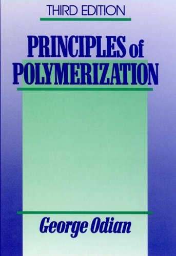 Principles of Polymerization  3rd 1991 9780471610205 Front Cover