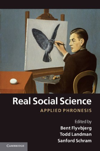 Real Social Science Applied Phronesis  2012 edition cover