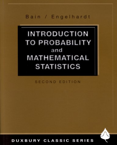 Introduction to Probability and Mathematical Statistics  2nd 1991 (Revised) edition cover