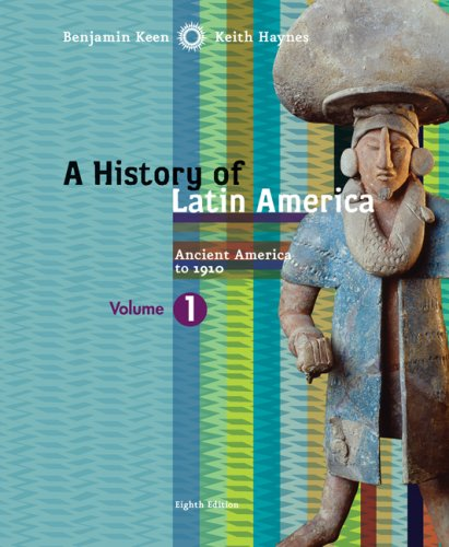 History of Latin America Ancient America To 1910 8th 2009 9780618783205 Front Cover