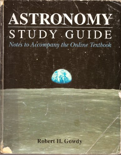 Astronomy Study Guide Revised  9780757507205 Front Cover