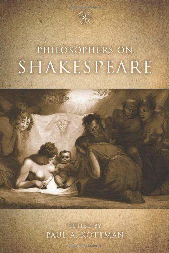 Philosophers on Shakespeare   2009 9780804759205 Front Cover