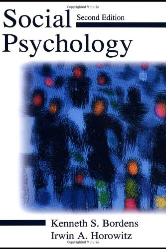 Social Psychology  2nd 2001 (Revised) edition cover