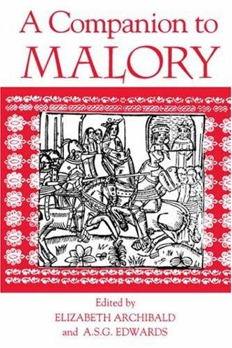Companion to Malory   1997 (Reprint) edition cover