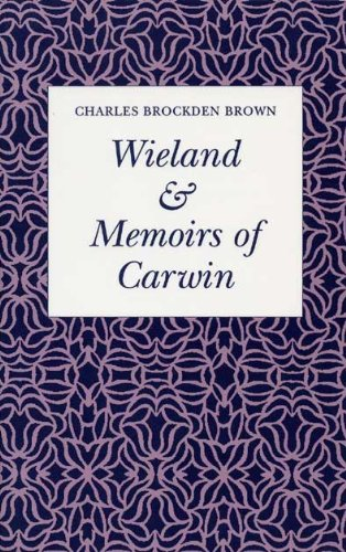 Wieland and Memoirs of Carwin   1987 edition cover