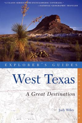 West Texas - A Great Destination  N/A 9780881509205 Front Cover