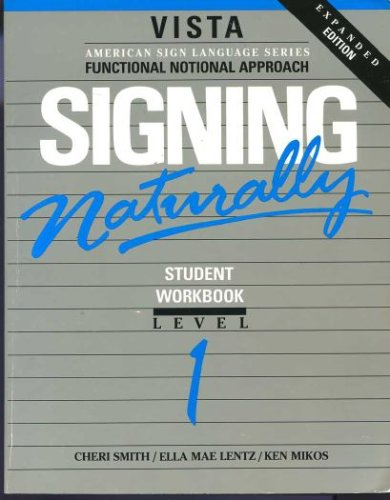 Signing Naturally  1993 edition cover
