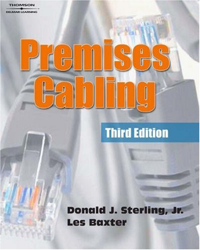 Premises Cabling  3rd 2006 (Revised) 9781401898205 Front Cover