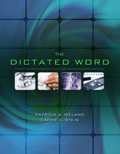 Dictated Word   2010 edition cover
