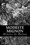 Modeste Mignon  N/A 9781483966205 Front Cover