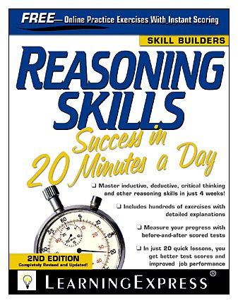 Reasoning Skills Success in 20 Minutes a Day  3rd 2010 (Revised) edition cover